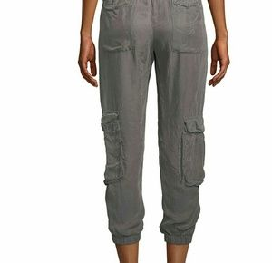 Johnny Was rambling pull-on cargo jogger pants